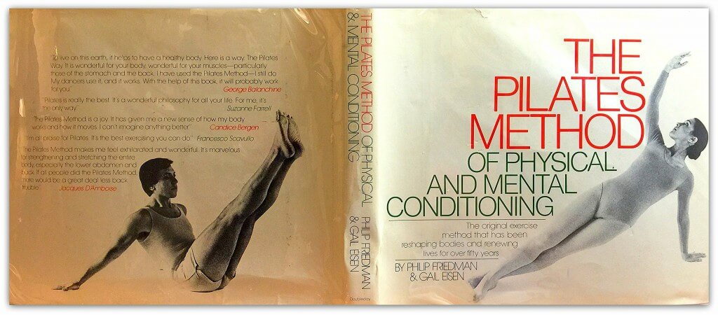 Het boek: 'The Pilates Method of Physical and Mental Conditioning'
