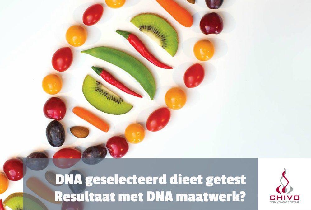 DNA dieet getest!