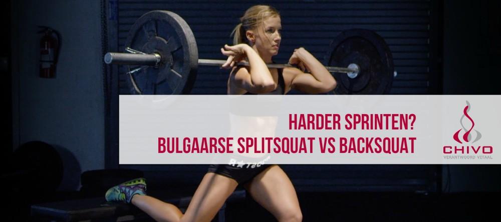 Clip: Harder sprinten met een bulgaarse split squat?