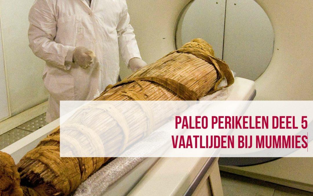 Paleo Perikelen deel 5 – Vaatlijden bij mummies