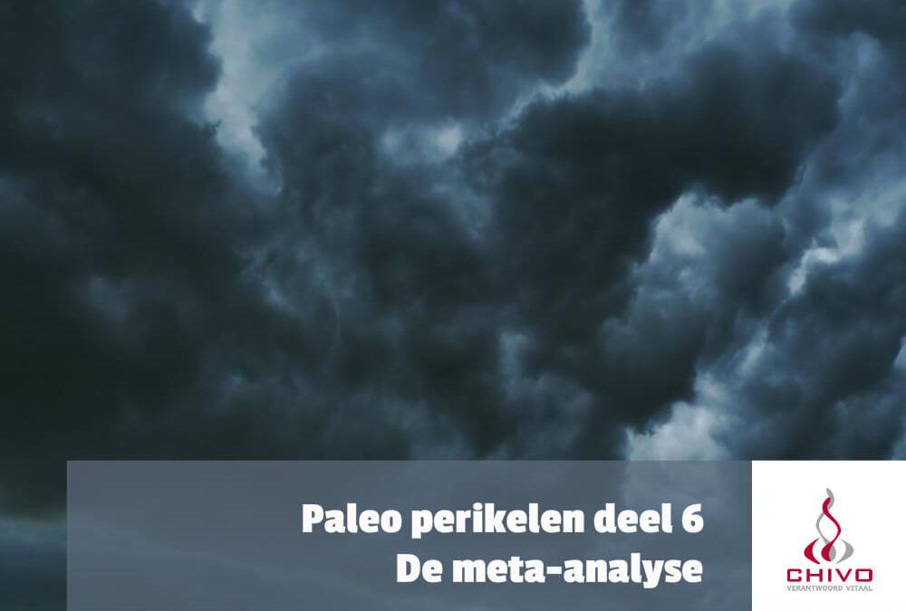 Paleo perikelen deel 6: De meta-analyse