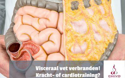 Visceraal-vet verbranden met kracht- of cardiotraining?