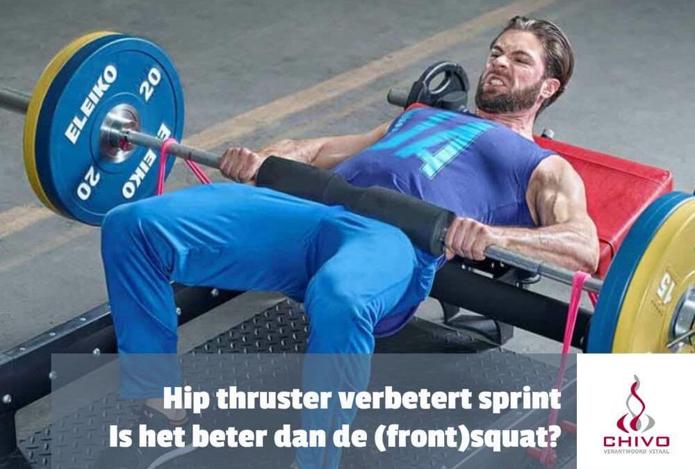 Clip: Zijn hip thrusters beter in het verbeteren van de sprint prestaties dan de squat?