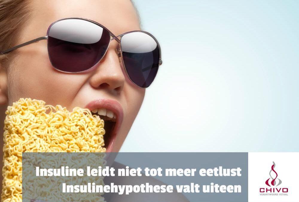 Insuline leidt niet tot meer eetlust