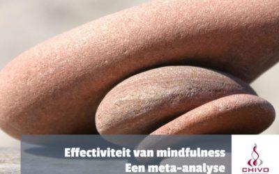 Hoe effectief is mindfulness meditatie? Een meta-analyse
