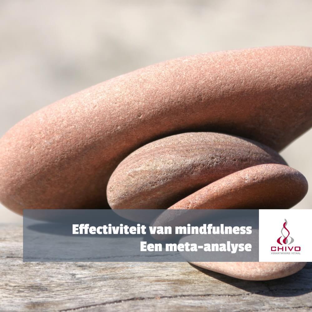 Hoe effectief is mindfulness meditatie wetenschappelijk gezien