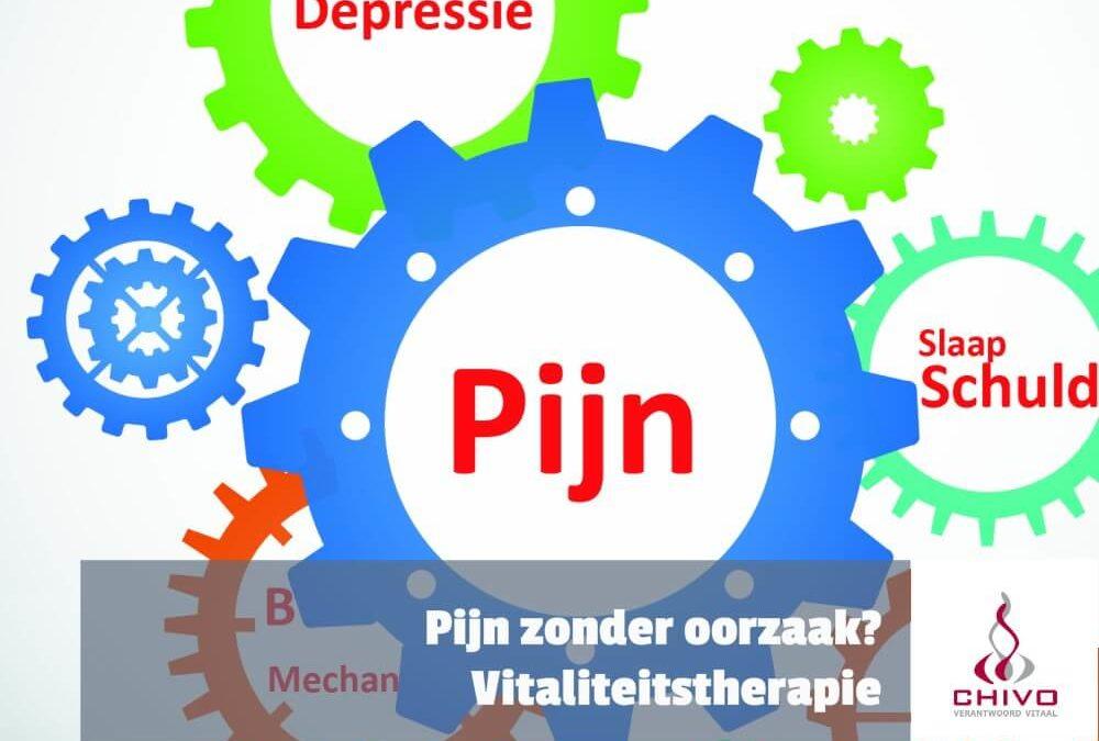 Pijn zonder oorzaak? Vitaliteitstherapie!