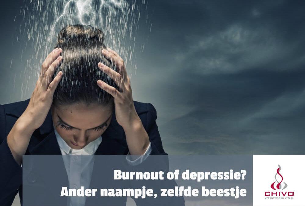 Burnout of depressie, een ander naampje voor hetzelfde beestje?