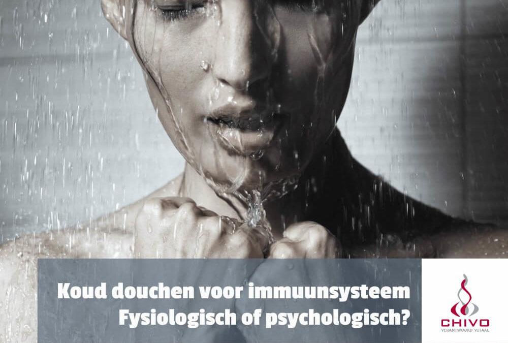 Clip: Koud douchen versterkt het immuunsysteem niet