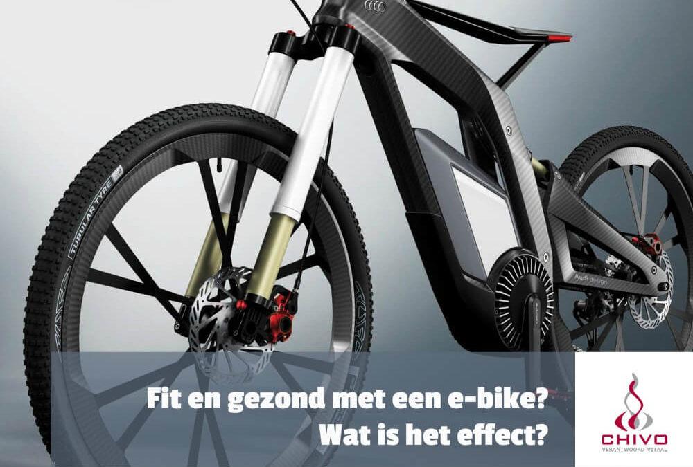 Fit en gezond met een e-bike?