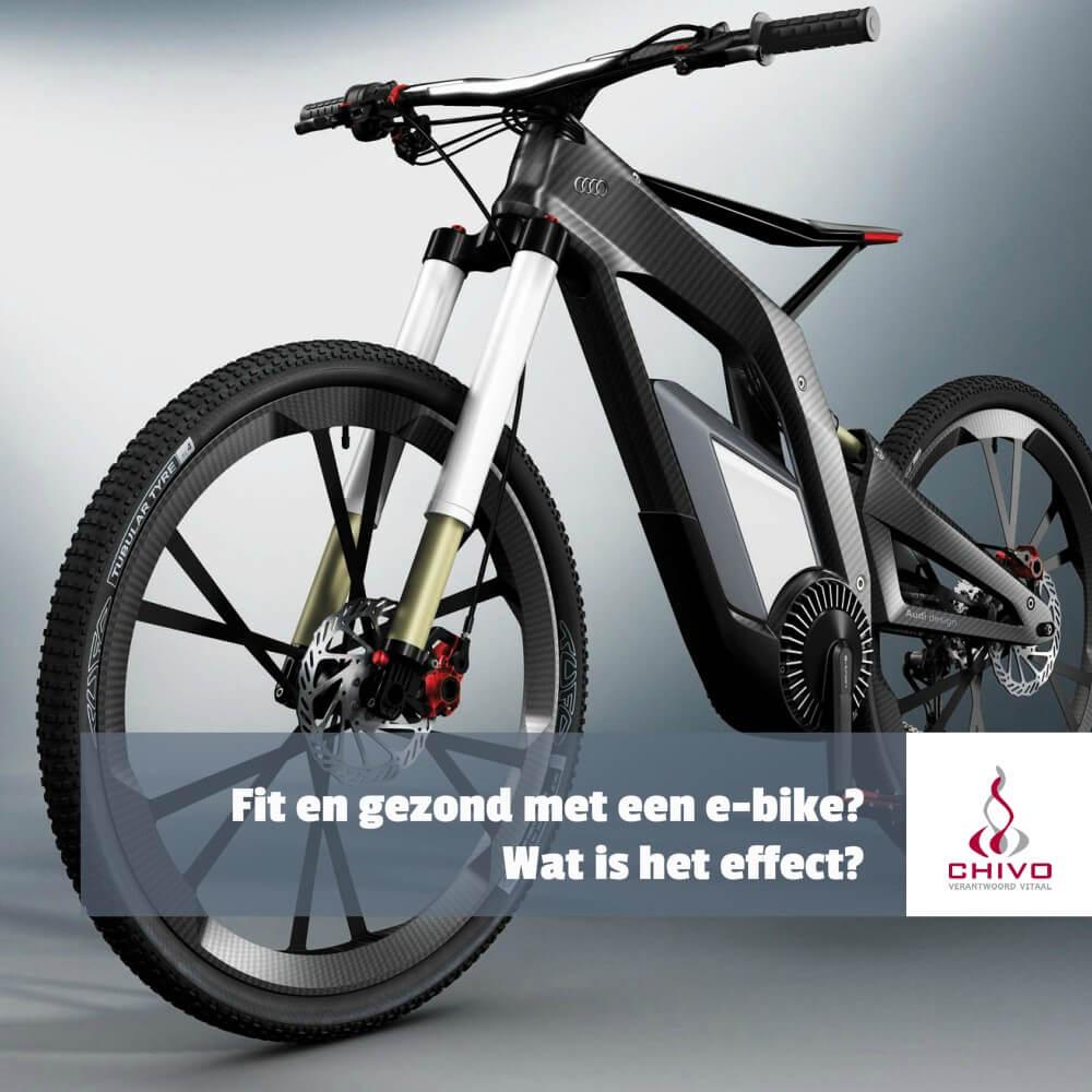 Kun je fit en gezond worden met een e-bike