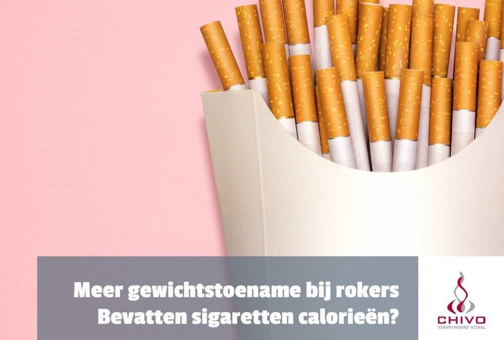 Gewichtstoename door roken?