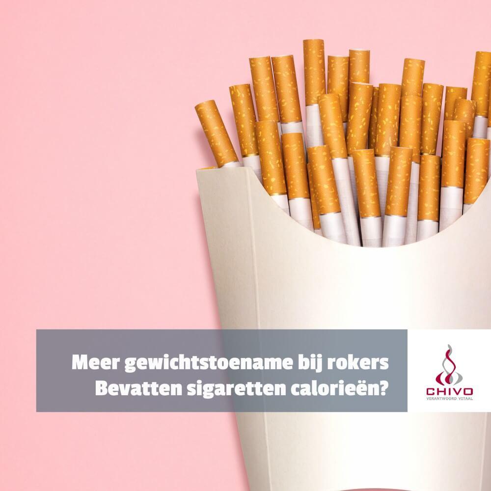 Word je zwaarder als je stopr met roken
