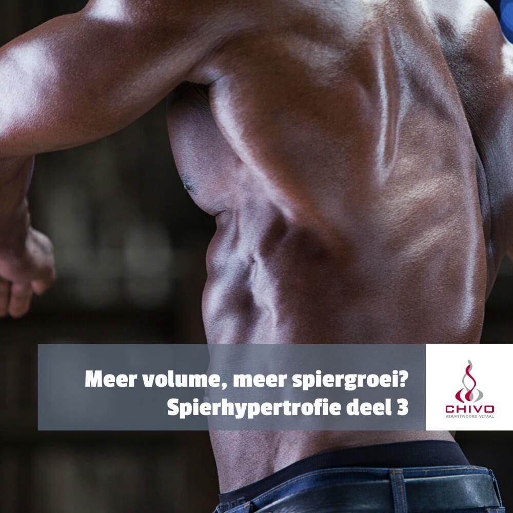 Leidt meer trainingsvolume tot meer spiergroei?