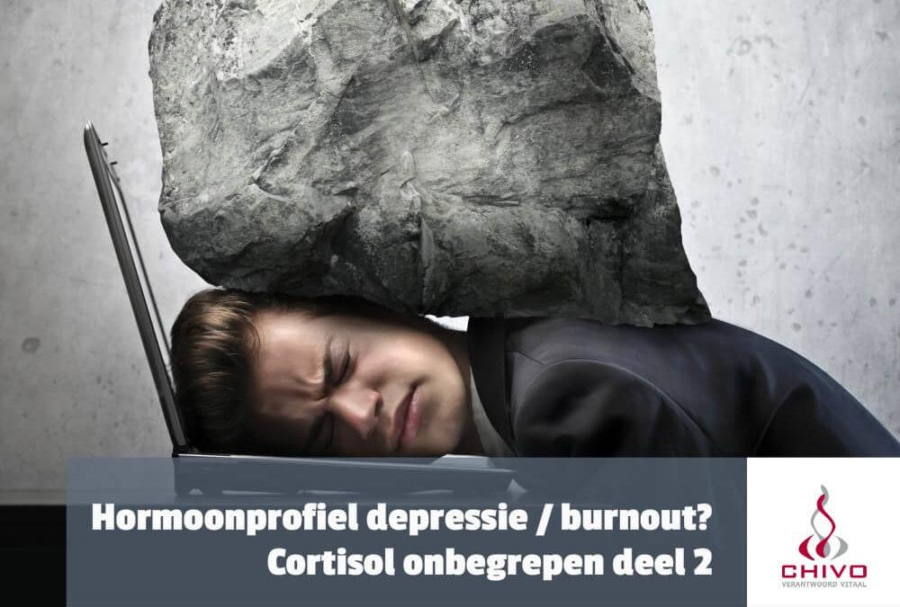 Cortisol onbegrepen deel 2: Verschilt het hormoonprofiel van burnout en depressie?