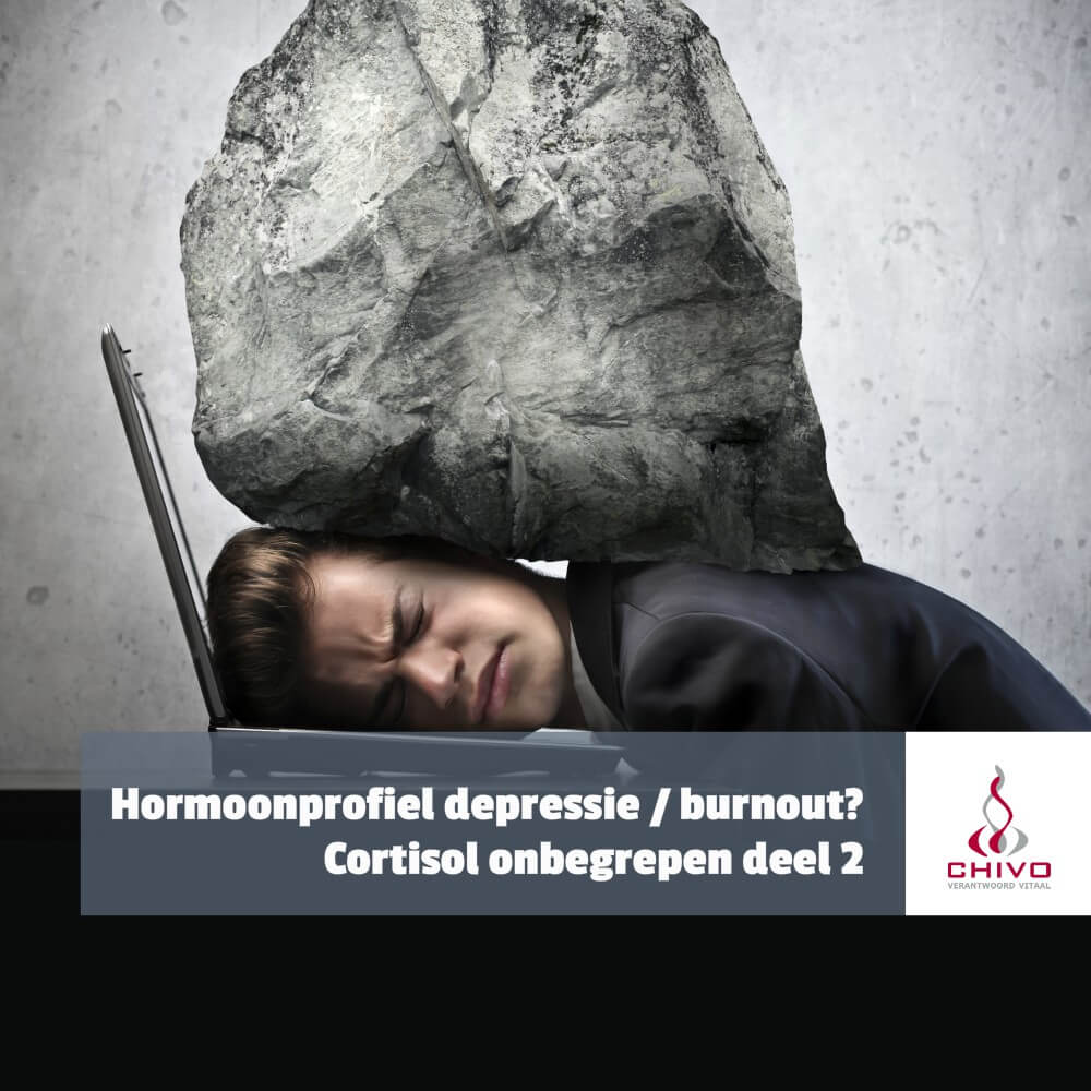Bepaalt de cortisol ontwaakrespons of het burnout of depressie is?