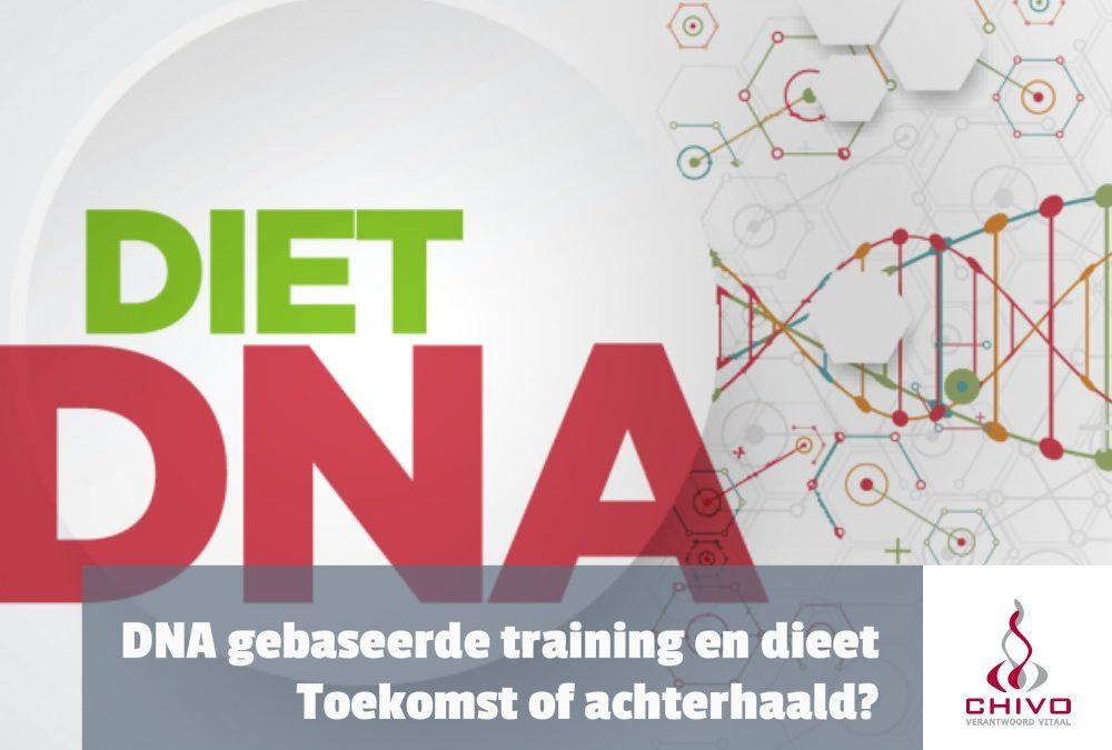 Persoonlijk diëet- en trainingsprogramma op basis van onze genen met DNA fit?