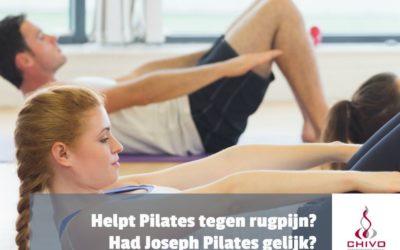 Helpt Pilates tegen rugpijn?