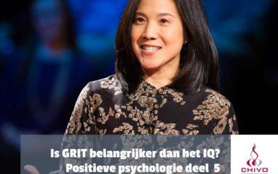 Positieve psychologie deel 5: Is GRIT belangrijker dan IQ?