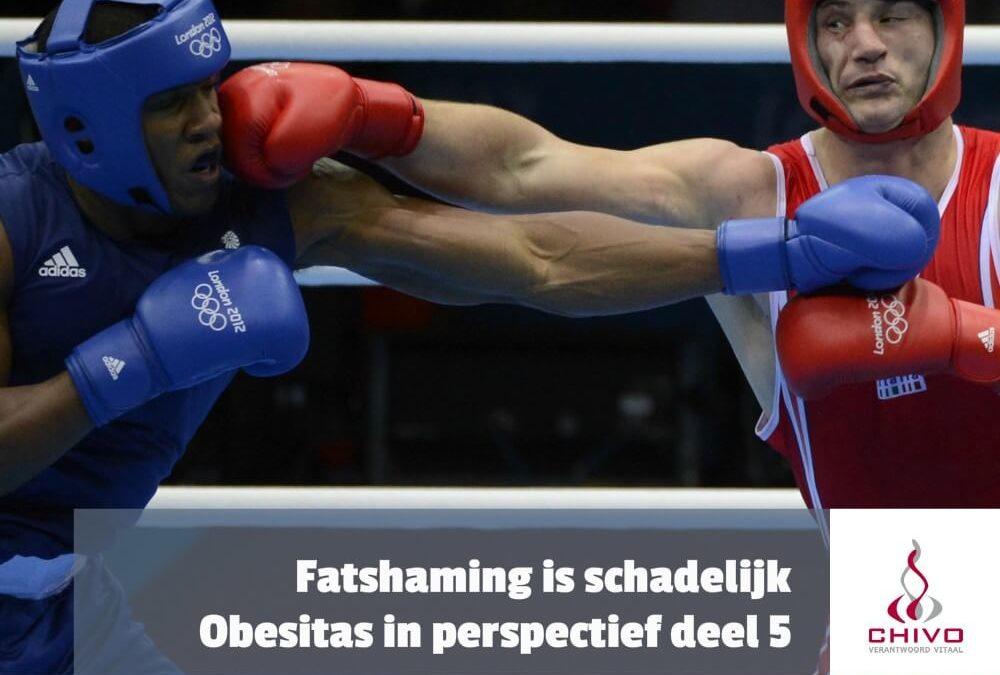 Obesitas in perspectief deel 5: Fatshaming is schadelijk