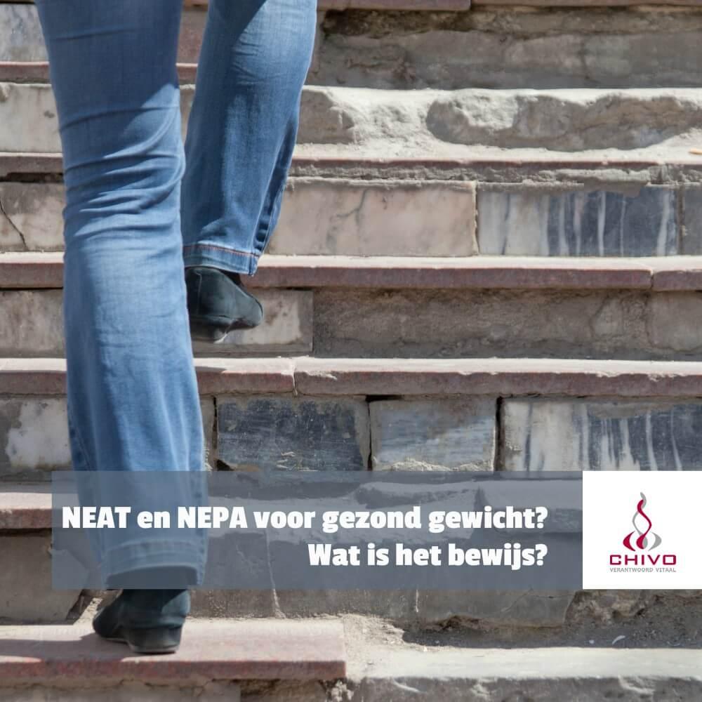 Gaat het al bewegen buiten sporten om (NEAT of NEPA genoemd) ons helpen bij afslanken?