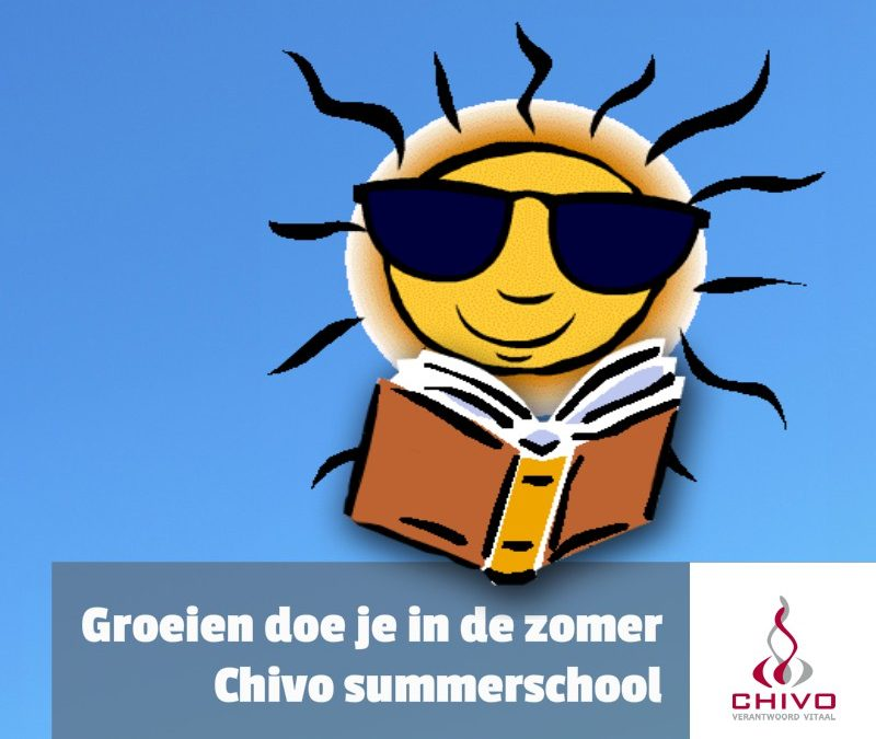 Summerschool 2019: Groeien doe je in de zomer!