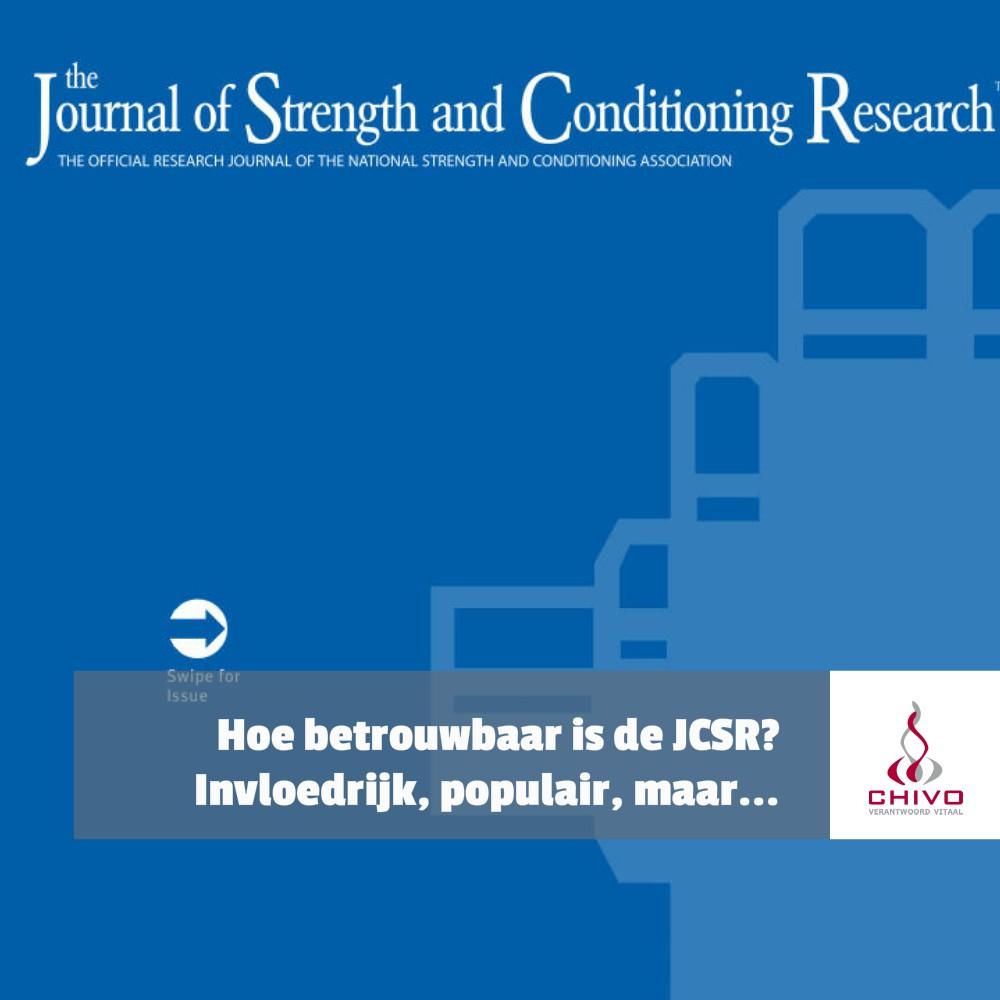 De journal of strength & conditioning is populair, maar is het ook betrouwbaar?