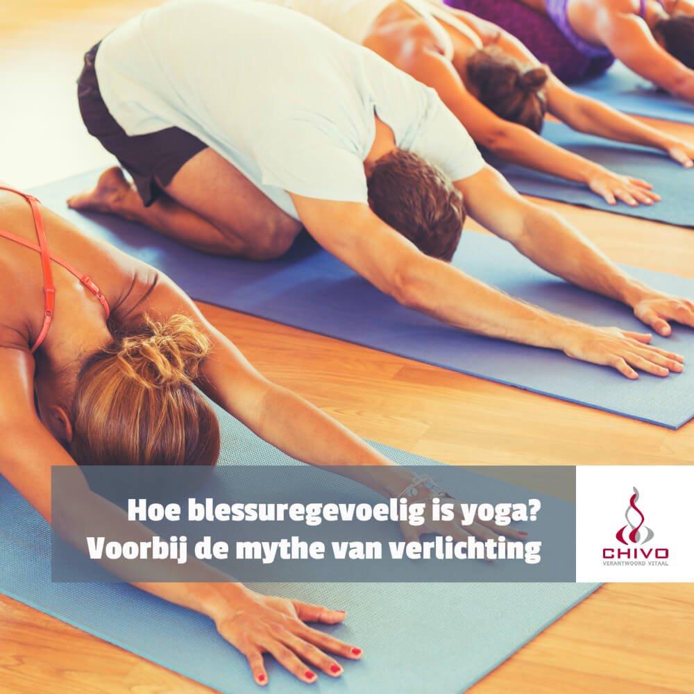 Hoe blessuregevoelig is yoga?