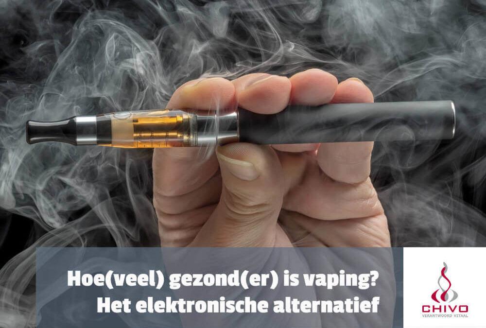 Hoe gezond is vaping met de elektronische sigaret?