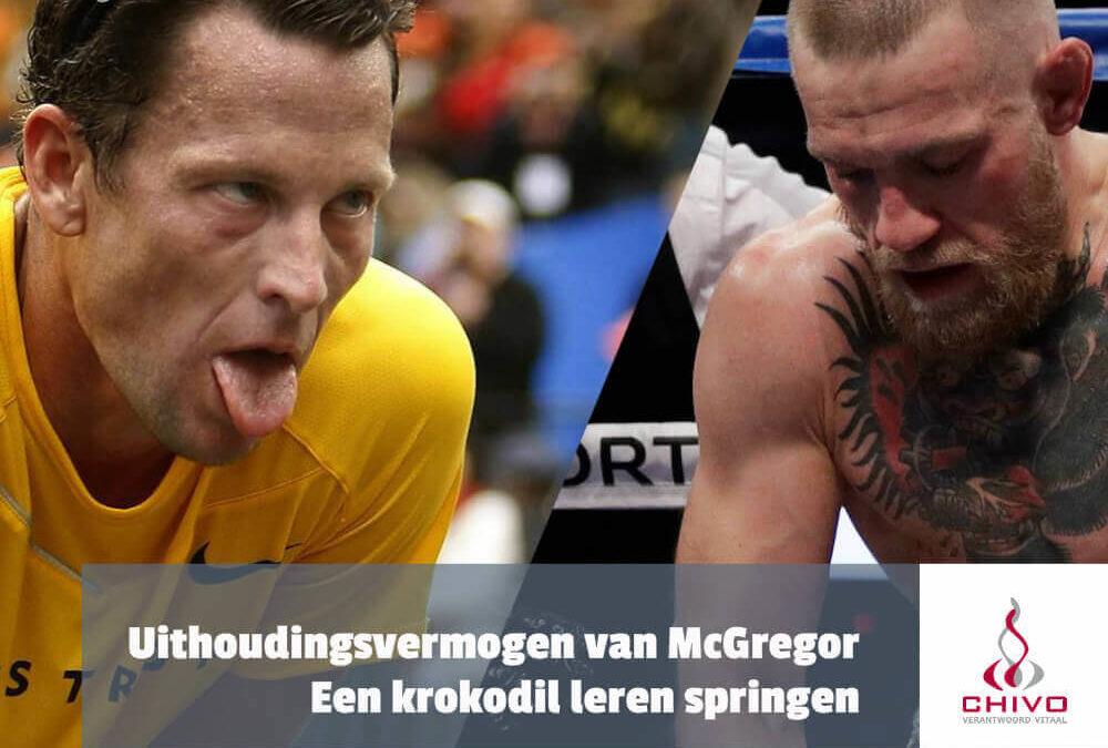 Het uithoudingsvermogen van Conor McGregor