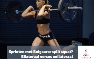 Harder sprinten met een bulgaarse splitsquat?