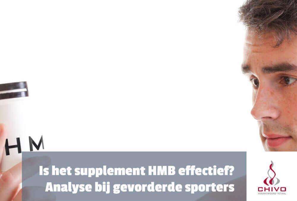 Supplement HMB voor (half)gevorderde krachtsporters