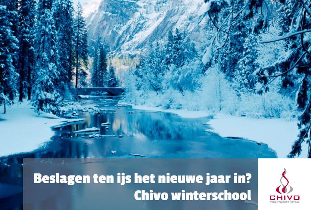 Beslagen ten ijs voor 2019? Chivo winterschool!