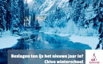 Beslagen ten ijs voor 2021? Chivo winterschool!