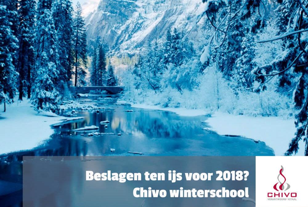 Beslagen ten ijs voor 2018? Chivo winterschool!