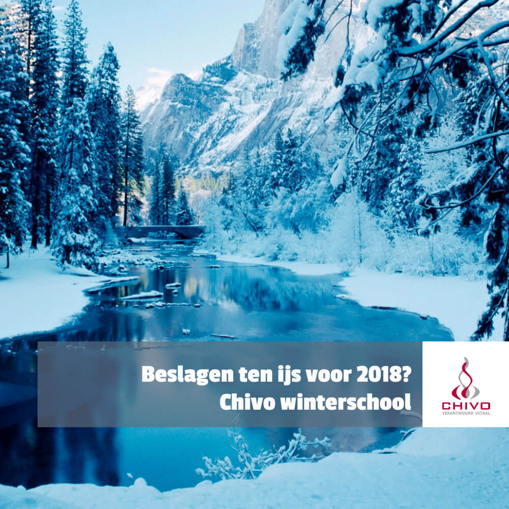Chivo winterschool, de snelle manier om je in korte tijd onder te dompelen in kennis