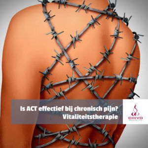 Hoe effectief is Acceptance and Commitment Therapy (ACT) bij chronische pijn?