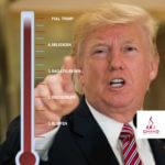 Trumpscore 5 in Trumpiaans debatteren 'Full Trump'