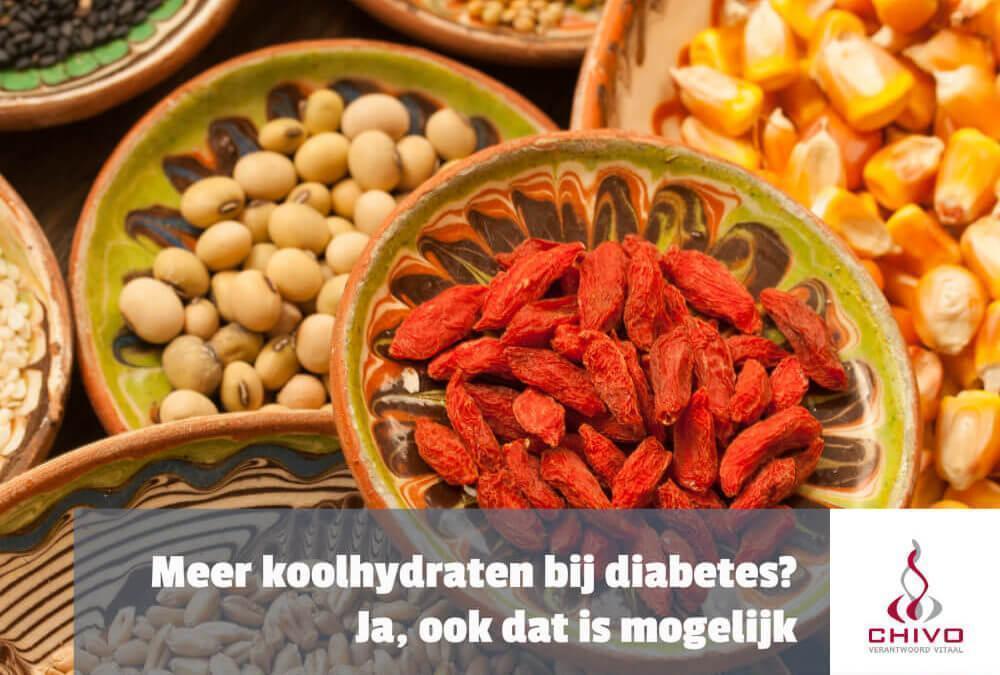 Meer koolhydraten effectief bij diabetes
