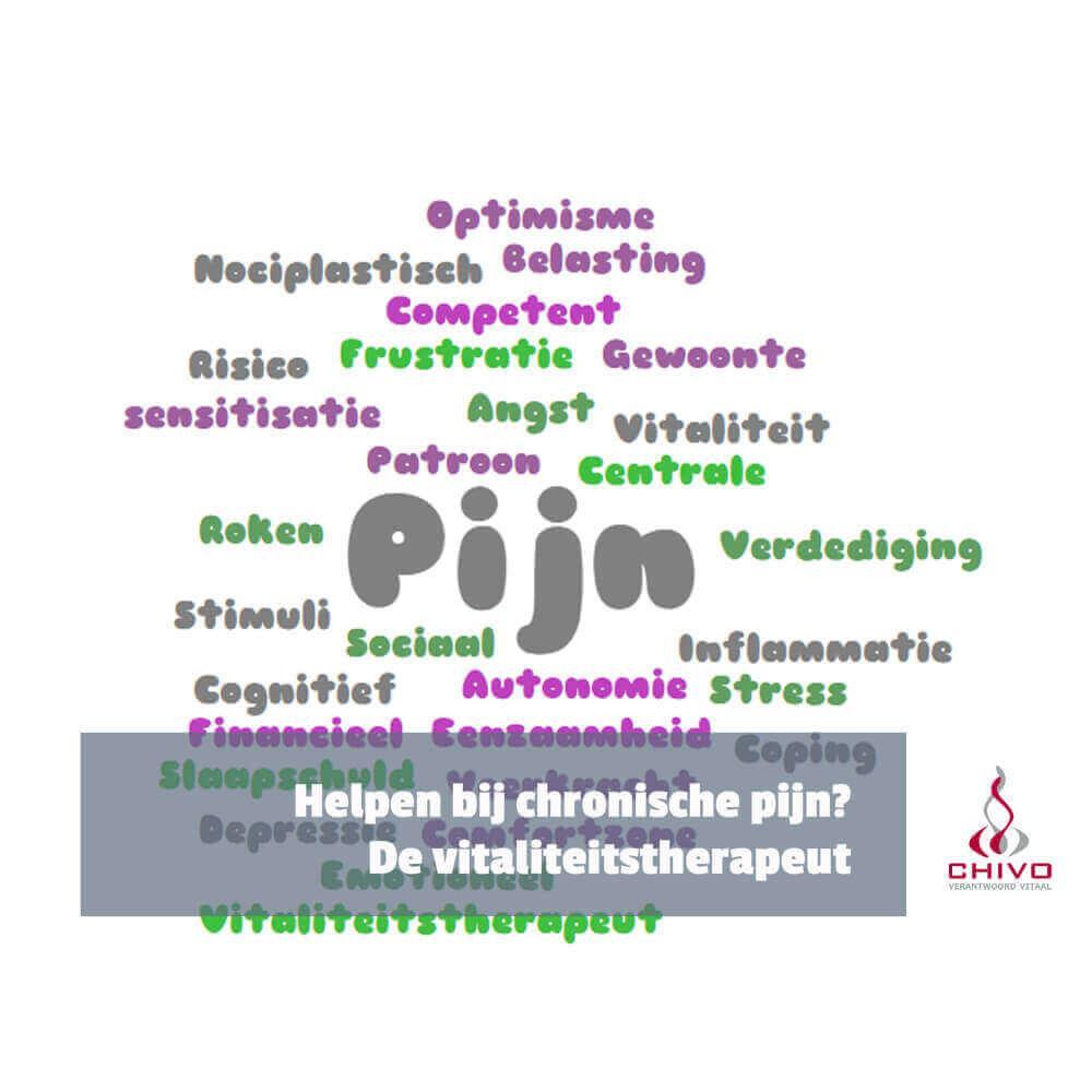 Voor chronische pijn kun je bij de vitaliteitstherapeut terecht