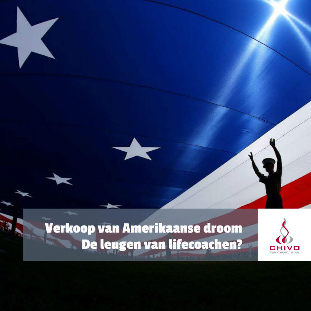 Lifecoachen en de verkoop van de Amerikaanse droom
