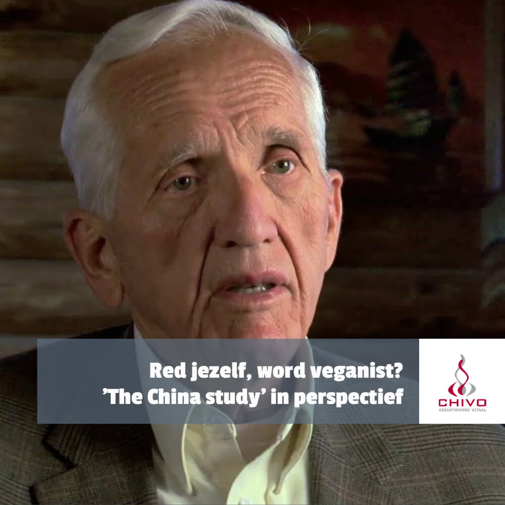 The China Study - Red jezelf, word veganist?