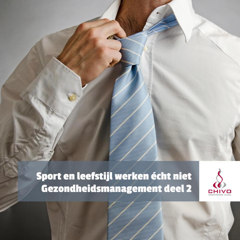 Sport- en leefstijlprogramma's als onderdeel van gezondheidsmanagement werken niet