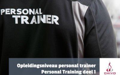Personal training deel 1: Definitie- en opleidingsniveau