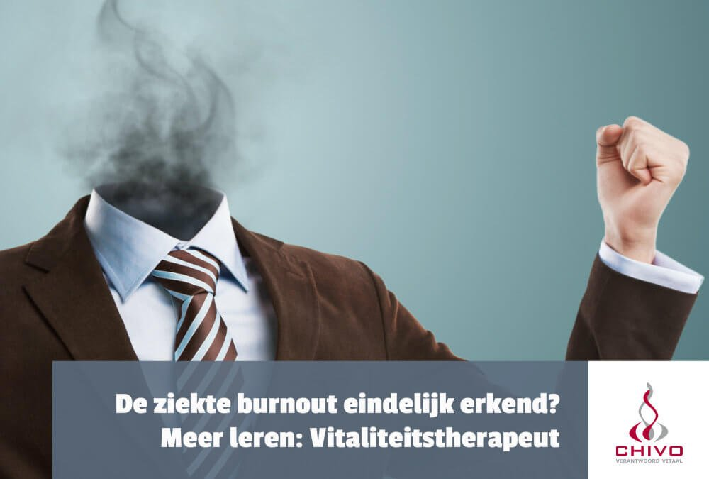 De ziekte burnout erkend