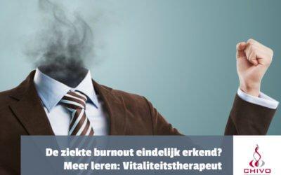 De ziekte burnout erkend