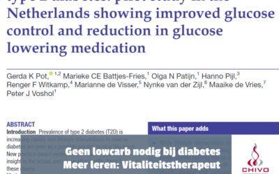Clip: Koolhydraatarm dieet niet nodig voor diabetes type 2