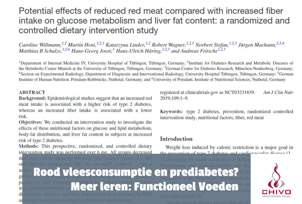 Clip: Verhoogt rood vleesconsumptie risico op (pre)diabetes?