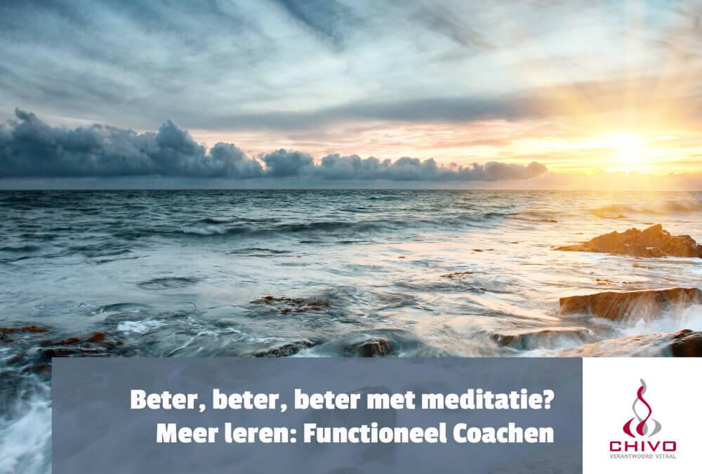Beter, beter, beter met meditatie?