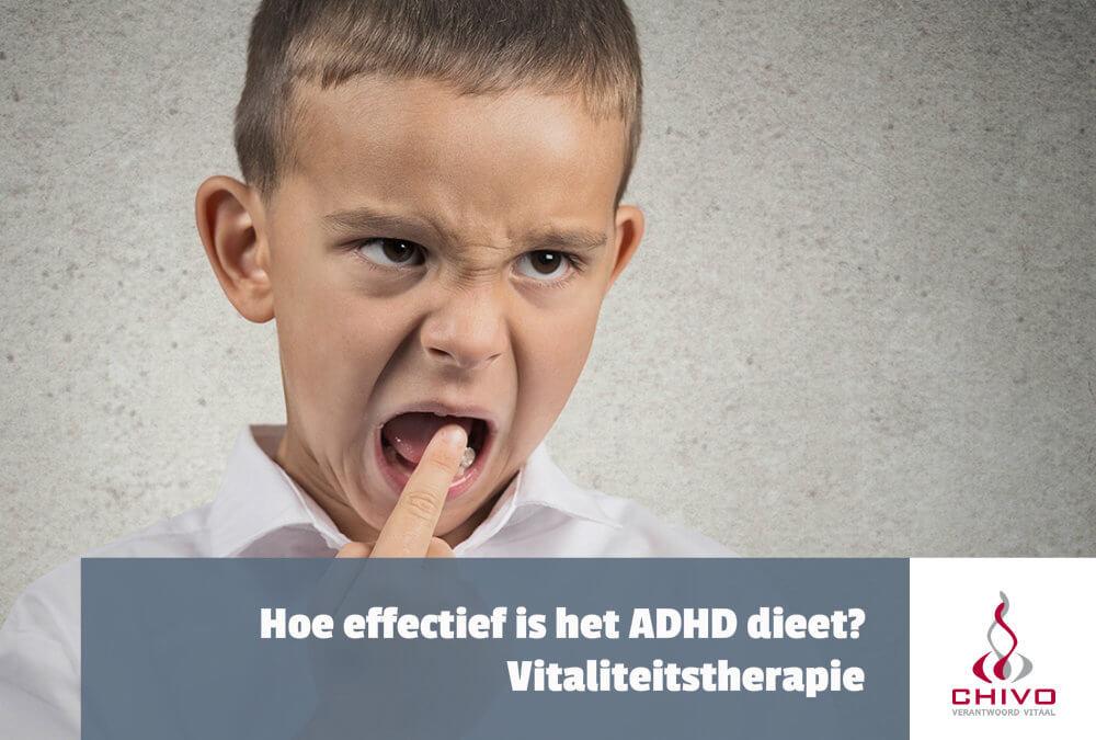 Hoe effectief is het Pelsser ADHD-dieet?